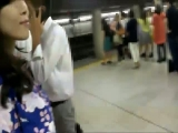 Japanese train Real Gropers, and Molested 03