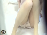Peeping - stalking female instructor masturbating 2