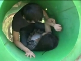 Mother fuck on a playground